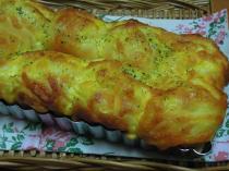 ハム&チーズのちぎりパン