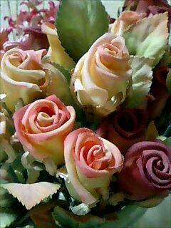 アートフラワー 薔薇1