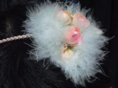 薔薇の蕾のカチューシャ2