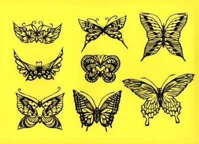 蝶々78シート目