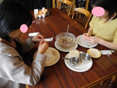 2014<br />0304手作り餃子作り