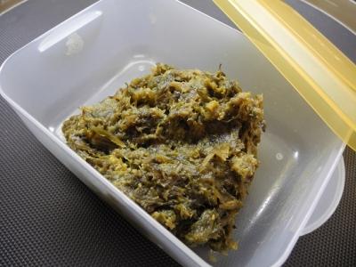 20140319フキノトウ味噌2