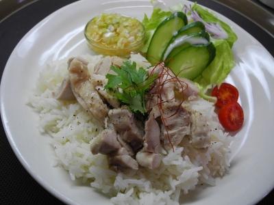 20121004海南鶏飯