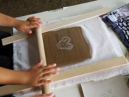2014親子で陶芸体験2