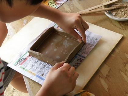 2014親子で陶芸体験4