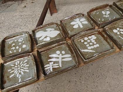 2014親子で陶芸体験完成1