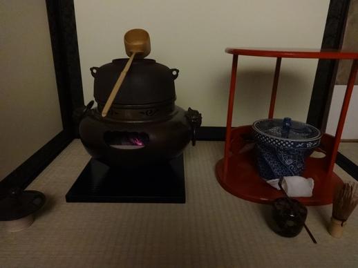 風炉の道具