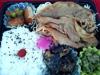20130821牛焼き肉弁当