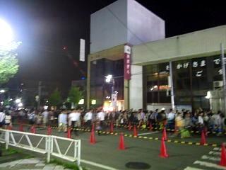 20130824大曲花火大会(帰りの大曲駅その1)