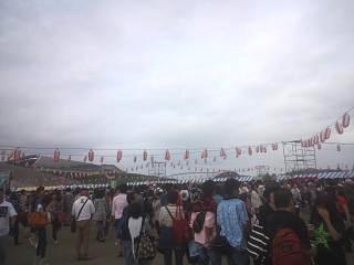 20130922サザン宮城コンサート(その1)