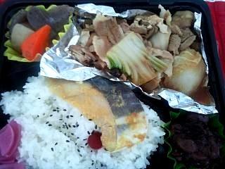 20131114肉豆腐弁当