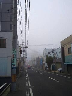 20131205霧の風景(その1)