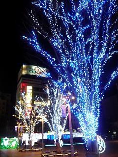 20140113郡山夜景(その1)