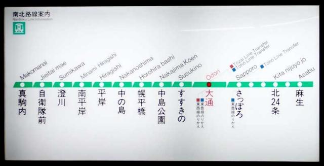 地下鉄南北線大通駅