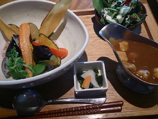 野菜やカレー