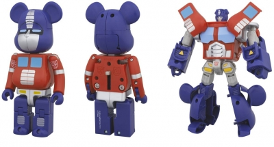 BE@RBRICK TRANSFORMERS OPTIMUS PRIME