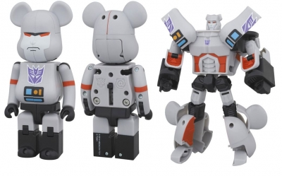 BE@RBRICK TRANSFORMERS MEGATRON