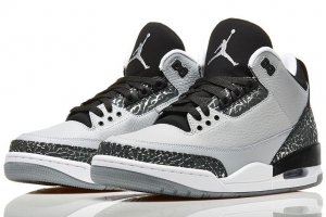 AIR JORDAN 3 RETRO WOLF GREY