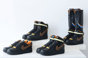 NIKE + RT AIR FORCE 1 BLACK COLLECTION