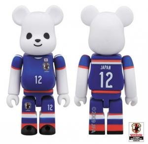 サッカー日本代表モデルベアブリック