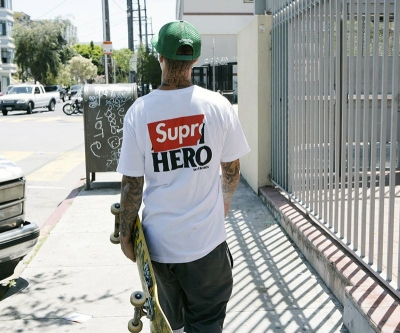 Supreme × Anti Hero