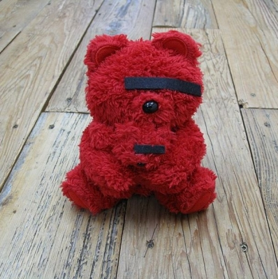 UBear doll SENDAI exclusive RED color