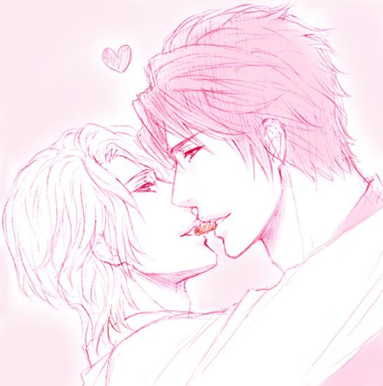 大地&湊KISS!