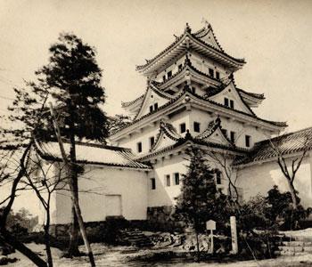 戦前の大垣城