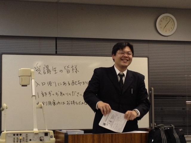 野村講師 憲法開講