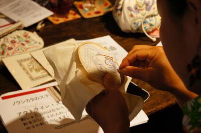 ノクシカタ刺繍ワークショップ7