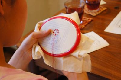 ノクシカタ刺繍ワークショップ8