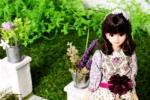 ジェニー シオン ミニチュア グリーン 人形 1/6ドール