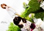 ジェニー シオン ミニチュア グリーン 人形 1/6ドール リカちゃん