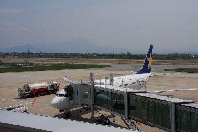 米子空港8