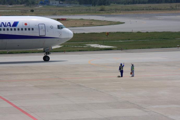 米子空港11