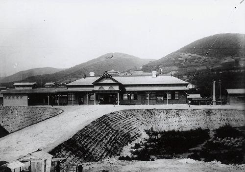 初代小樽駅 稲穂