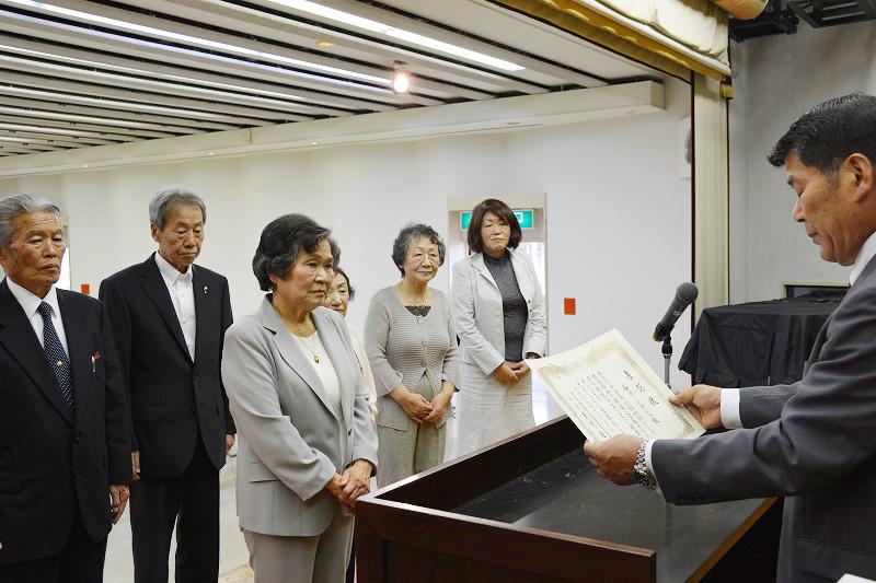 平成26年度民生児童委員表彰伝達式