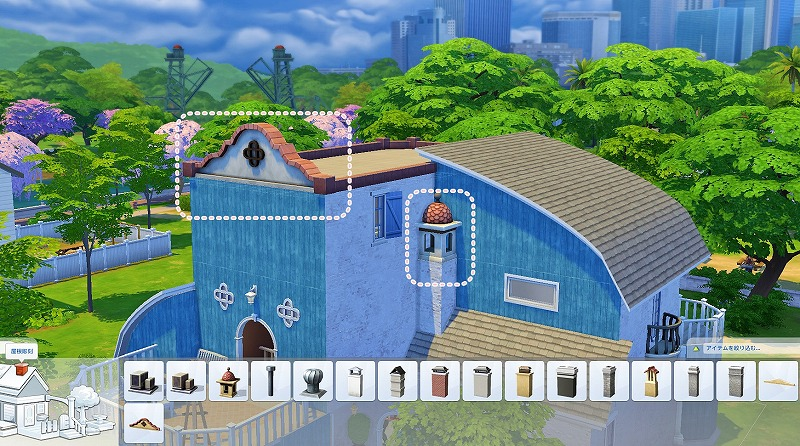 Sims4初プレイと建築05