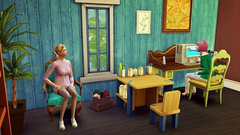 Sims4初プレイと建築8