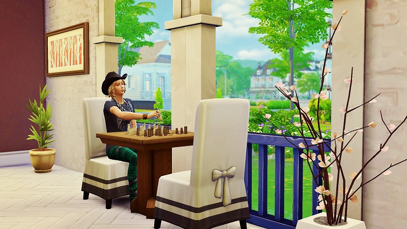 Sims4初プレイと建築09