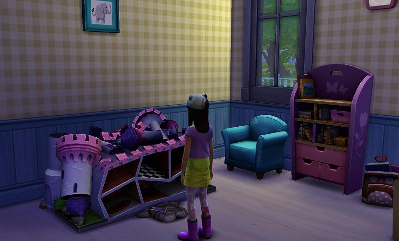 Sims4初プレイと建築12