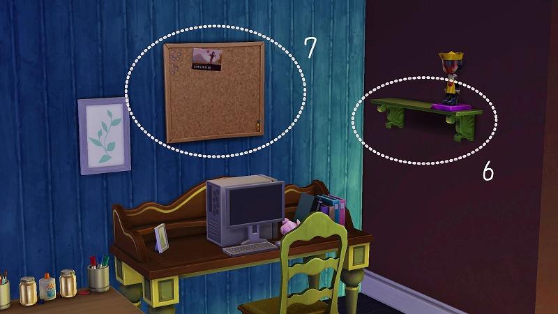 Sims4初プレイと建築07_2