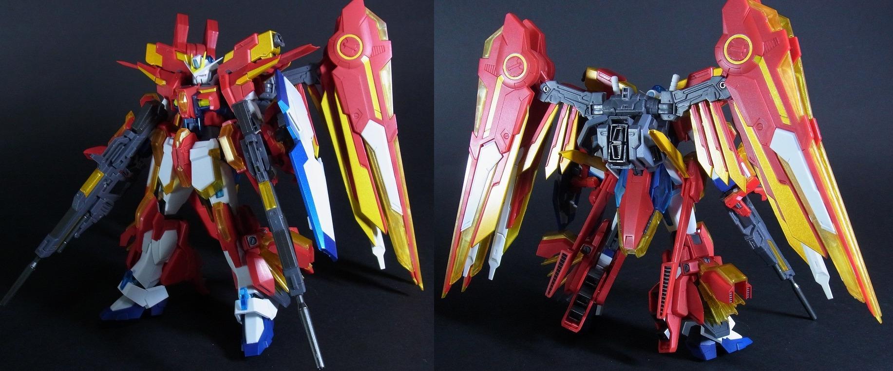 エクストリームガンダムtype-イクスEXAフェース