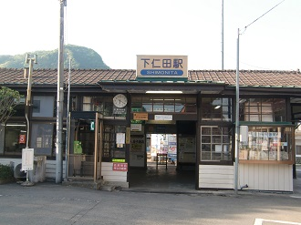 @下仁田駅