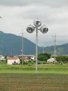ターミネーターっぽい扇風機