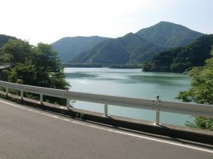 丹沢湖に戻って来た