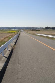 直線道路('A` )