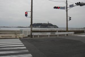 一発で江ノ島前