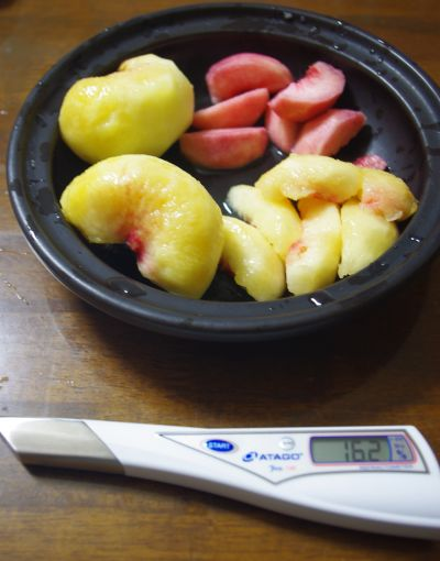 140803-蟠桃の糖度