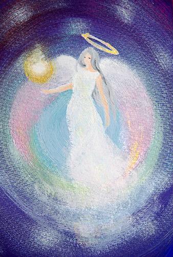 大天使サンダルフォン